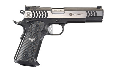 "Ruger Sr1911 Comp 9mm 5"" 10rd Blk"