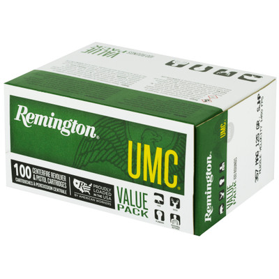 Rem Umc 357mag 125gr 100/600 - REM23970