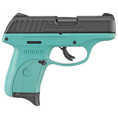 "Ruger Ec9s 9mm 3.1"" Turq 7rd - RUG03285"