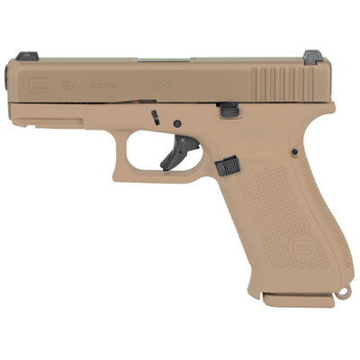 Glock 19x 9mm 19rd Gns 3 Mags - GLPX1950703E