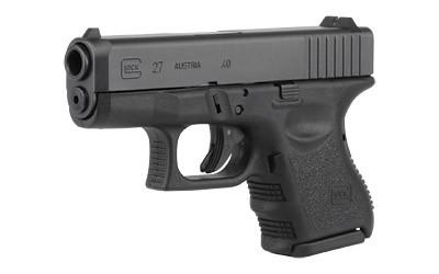 Glock 27 Gen3 40s&w Subcomp 9rd