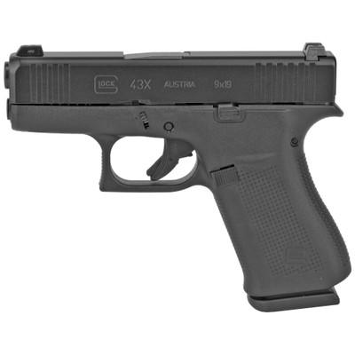 Glock 43x 9mm 10rd Blk Gns