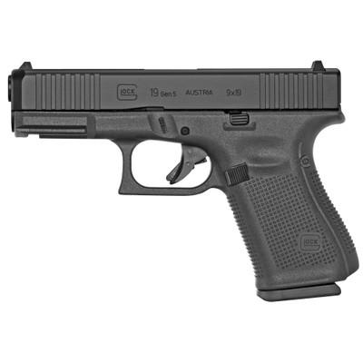 Glock 19 Gen5 9mm 10rd 3 Mags Fs - GLPA195S201E