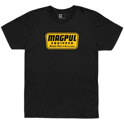 Magpul Equipped Tshrt Blk Xl