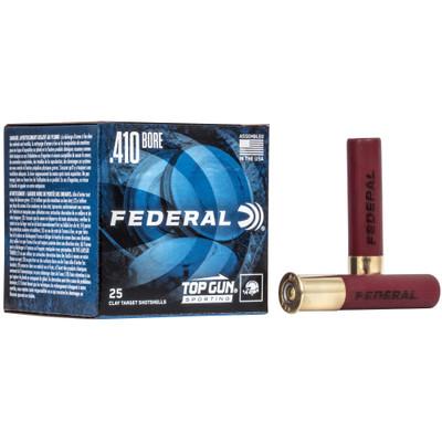 """Fed Top Gun 410ga 2.5"""" #8 25/250"""