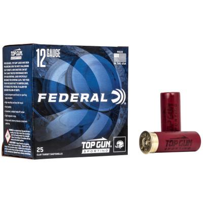 """Fed Top Gun 12ga 2.75"""" #8 1 Oz 25/ - FETGSF1288"""