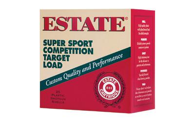 """Fed Estate Ss 12ga 2.75"""" #8 1 Oz 25/"""