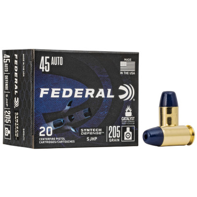 Fed Syn Def 45acp 205gr Sjhp 20/200
