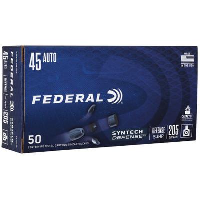 Fed Syn Def 45auto 205gr Sjhp 50/500