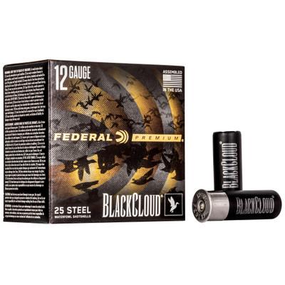Fed Blk Cloud 12ga 2.75 #4 25/250