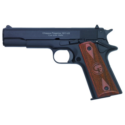 "Chiappa 1911 22lr 5"" 10rd Blk"