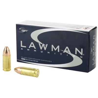 Spr Lawman 9mm 124gr Tmj 50/1000
