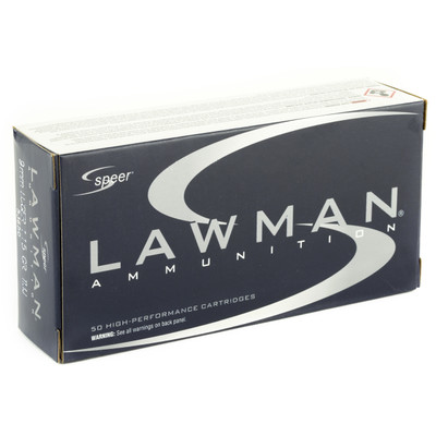 Spr Lawman 9mm 115gr Tmj 50/1000