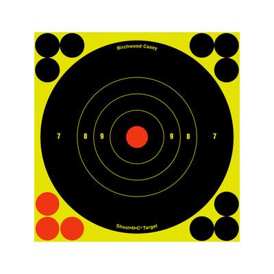 B/c Sht-n-c Rnd Bullseye Tgt 12-6