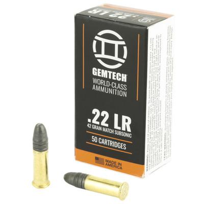 Gemtech 22 Slncr Sub 42gr Rn 50/5000