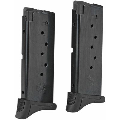 Mag Ruger Lc9/ec9s 7rd Bl W/ext 2pk