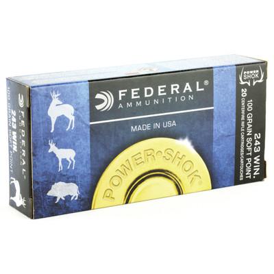 Fed Pwrshk 243win 100gr Sp 20/200