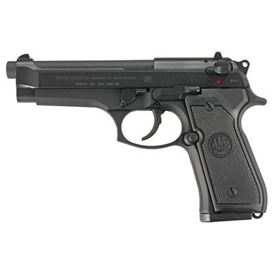 """Beretta 92fs 9mm 4.9"""" Bl 2-15rd Itly"""
