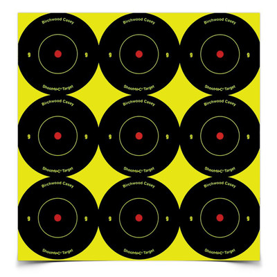 B/c Sht-n-c Rnd Bullseye Tgt 108-2