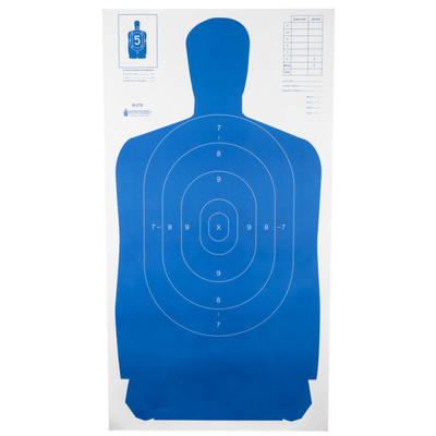 Action Tgt B27s Blue 100pk