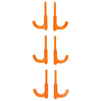 Fsdc Orange Rifle Chamber Flag 6pk