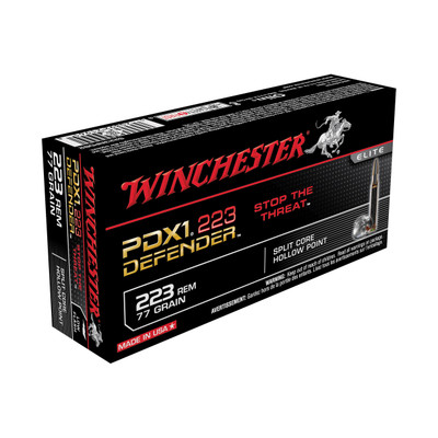 Win Defender 223rem 77gr Hp 20/200