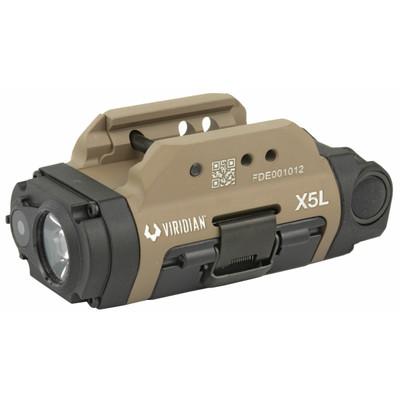 Viridian X5l G3 Unv Lsr/lght Grn Fde