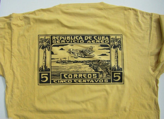 Cuban stamp T-shirt