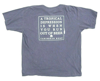 Tropical Depression... when you run out of beer T-shirt