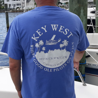 Key West... Where good ole pilots go to fly t-shirt
