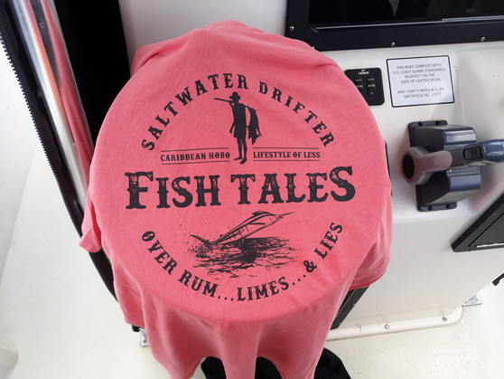 Saltwater Drifter...Fish Tales....Over Rum