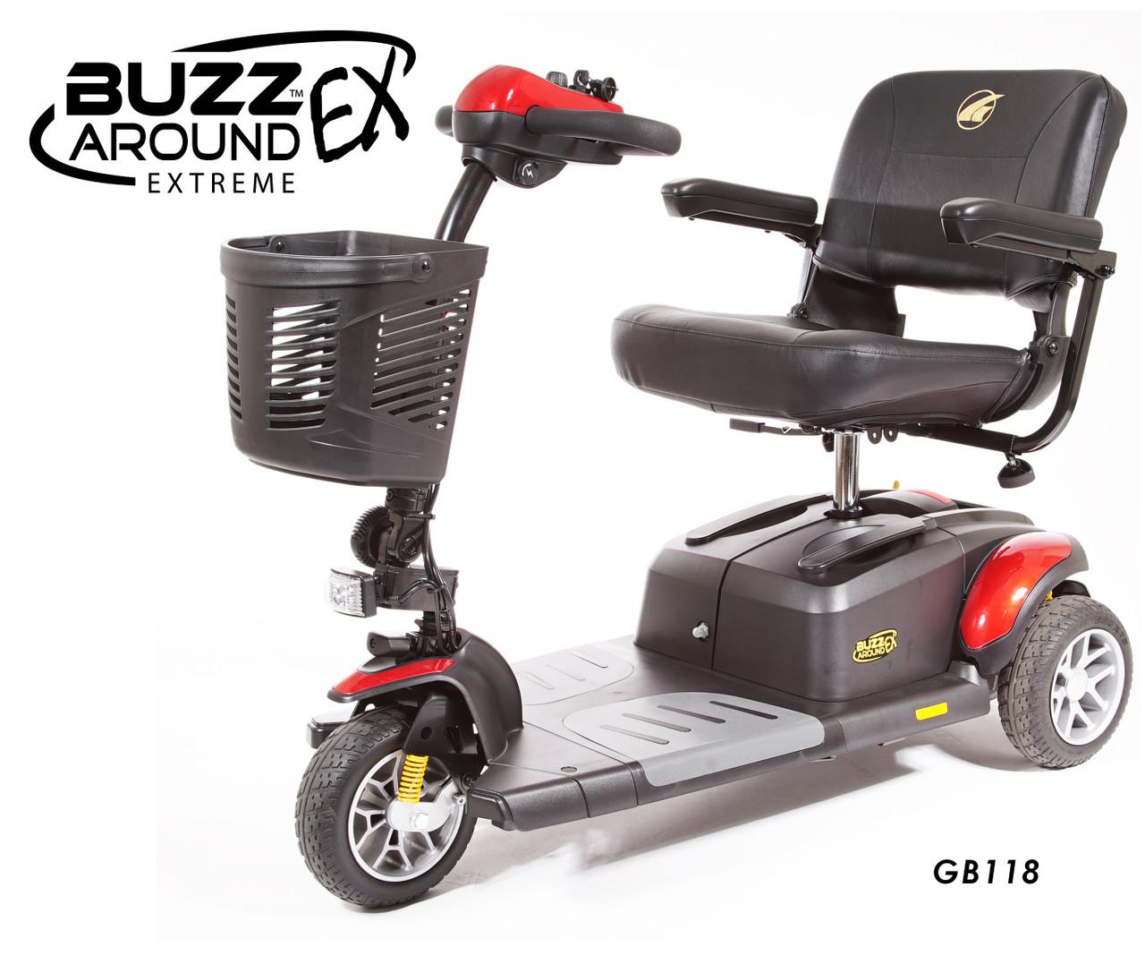 Buzzaround EX Extreme 3-Wheel Scooter
