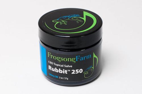 Frogsong Rubbit 250 Salve- 2oz