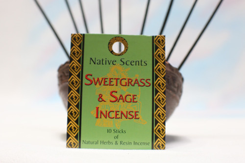 Sweetgrass & Sage Incense- Native Scents
