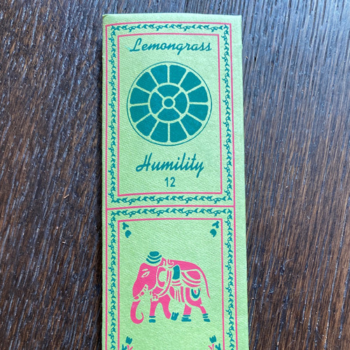 Lemongrass/Humility Incense