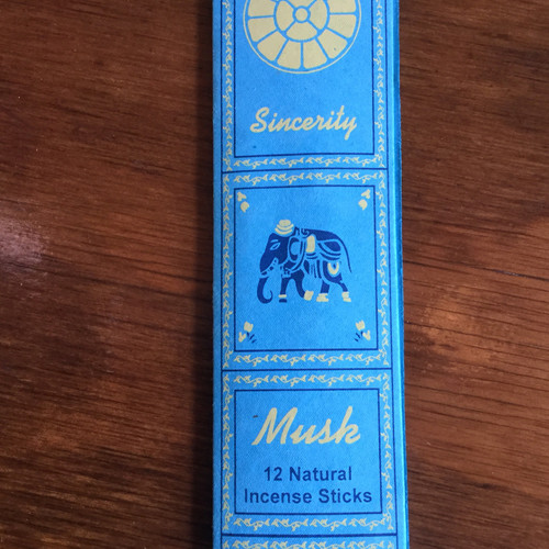 Musk/Sincerity Incense