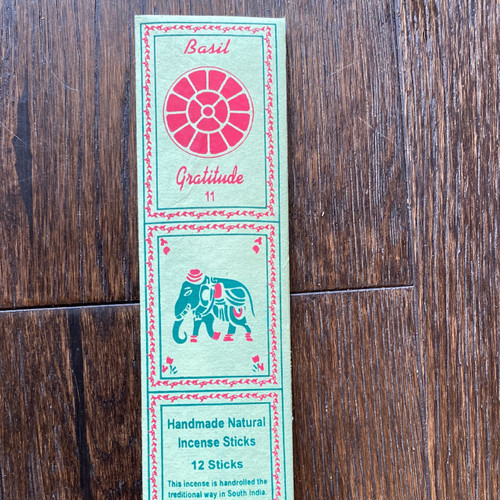 Holy Basil/Gratitude Incense