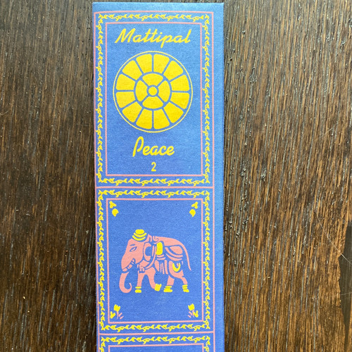 Mattipal/Peace 2 Incense