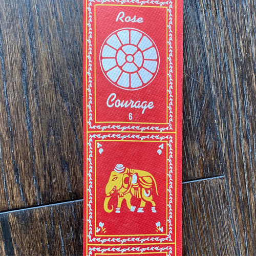 Rose/Courage Incense