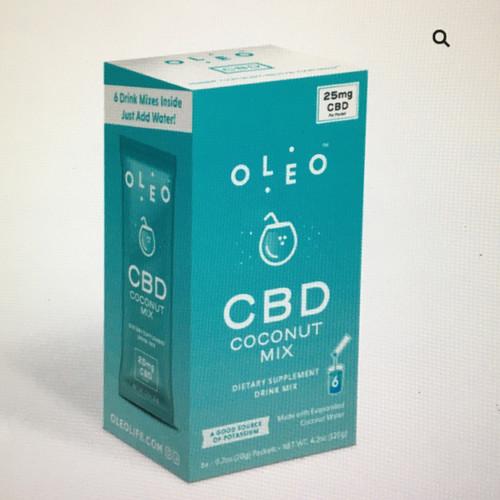 Oleo Coconut Water 6 Pk
