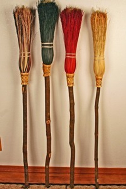 Witches (Besom) Broom  (Sold for in-store pick up only!!!)