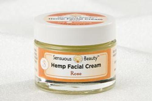 Hemp Facial Cream- Rose