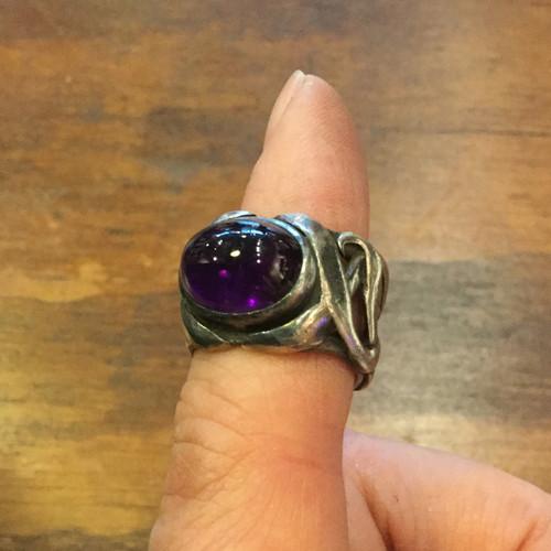 Amethyst S/S Ring.