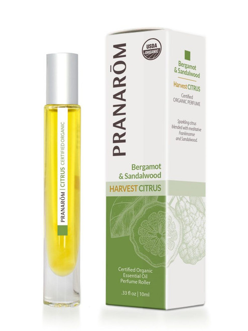 Bergamot & Sandalwood Harvest Citrus Essential Oil Perfume