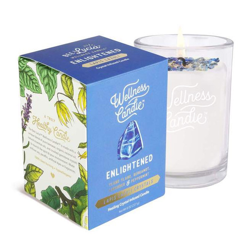 Enlightened Lapis Candle- 4oz Tin