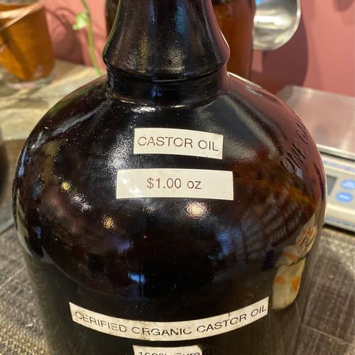 Bulk Castor Oil Organic (1 oz)