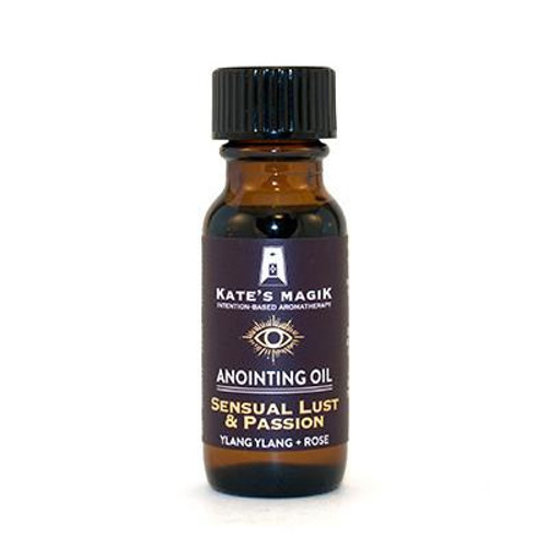 Sensual Lust & Passion Anointing Oil .5oz