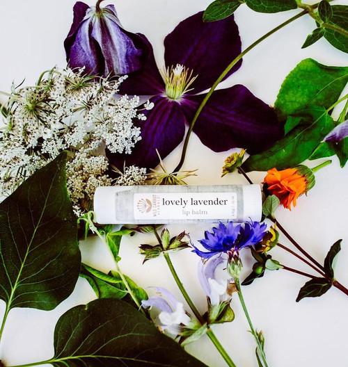 Lovely Lavender Lip Balm