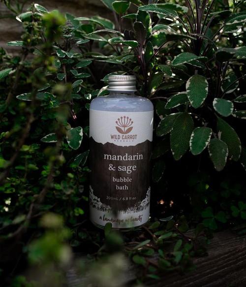 Mandarin & Sage Bubble Bath
