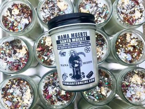 Mama Muerte- Soy Spell Candle